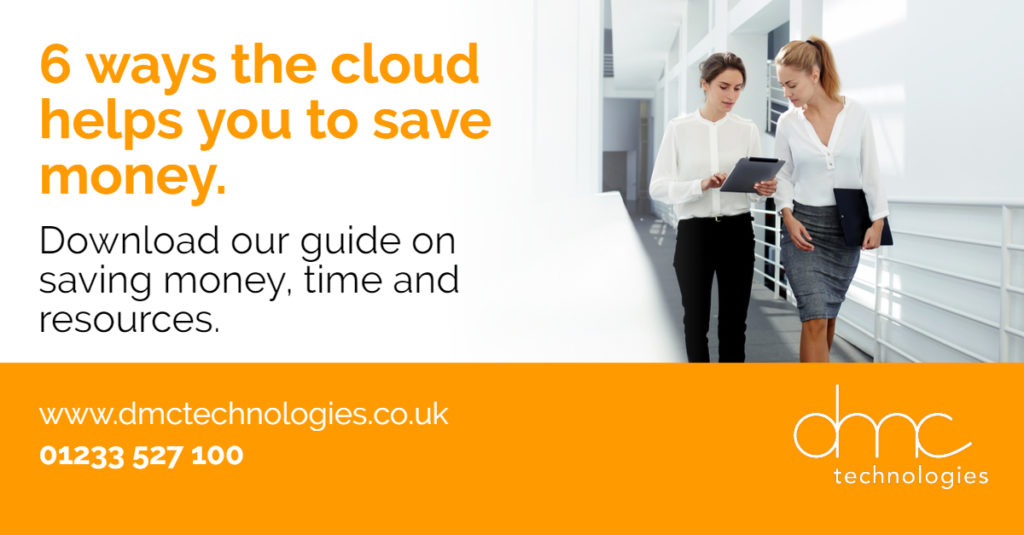 Download our guide on how the cloud helps your business save money